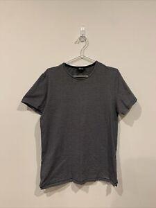 APC Rue Madame Paris Striped Tshirt L Large
