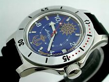 RUSSIAN  VOSTOK AUTO AMPHIBIAN WATCH  FOR DIVING #12374 NEW