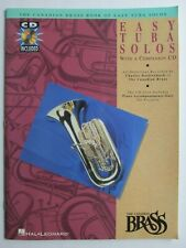 """The Canadian Brass Book Of """"Easy Tuba Solos"""" Music Book/Cd"""