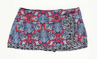 Tommy Bahama 244535 Womens Skirted Hipster Swimwear Geo-printed Cerice Size XS