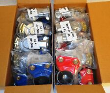 Commercial Truck Blue Service & Red Emergency Glad Hand(20 Pcs) - Mhd1451 & 1452