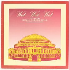 Live At The Royal Albert Hall  Wet Wet Wet Vinyl Record