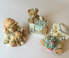 Cherished Teddies - Betty Carrie And Violet All 1995 Teddies