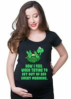 Funny Turtle Pregnancy T-shirt Gift for future mom Maternity T-shirt tee shirt