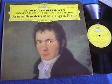 Arturo Benedetti Michelangeli/Beethoven Sonata No. 4/DG Stereo 2530 197/MINT-