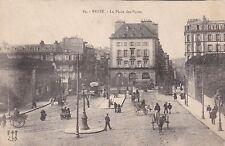 France Brest La Place des Portes 1919 sk4164