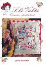 10% Off Lilli Violette Counted X-stitch Chart - Petite Mercerie