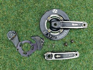 FSA GRAVITY Downhill CRANKSET with E.Thirteen Bashguard Old School Retro DH