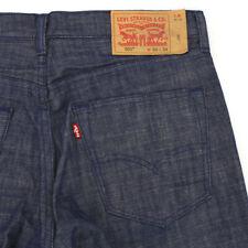 LEVI'S WHITE OAK 501 CLASSIC STRAIGHT RESIN WASH DENIM BLUE JEANS MEN'S 34 X 26