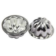 8 Shape 16Pcs Aluminum Bath Bomb Moulds DIY Cake Ball Molds Homemade Crafting
