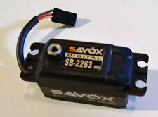 Savox SB-2263MG LP Black Edition Brushless Servo-Metal Gear-25T Futaba spline