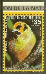 Equatorial Guinea - 1974 - South American & Australian bird - Traupidos  Mi.#496