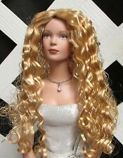 "DOLL Wig, Monique ""Christine"" Size 5/6 in Gldn Strawberry Blonde - Fits Tyler"