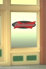 Miller's Budweiser Animated Neon Window Sign   #8815 Miller Engineering