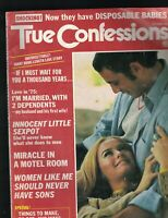 True Confessions Magazine October 1975 Miracle in a Motel Room