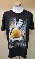 BRUCE LEE Enter the DRAGON Karate Jeet Kune Do Mens Gray Graphic T-Shirt  Large