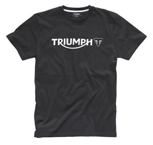 Triumph Logo T-Shirt - Black - # Genuine Triumph Clothing