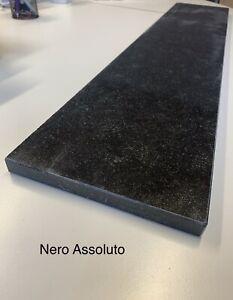 Nero Assoluto Granit Naturstein Fensterbank Fensterbänke Poliert Nach Maß