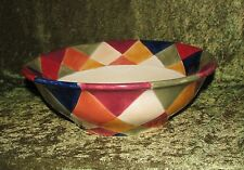 ARTIMINO CIAO HARLEQUIN LARGE SALAD SERVING BOWL 13""