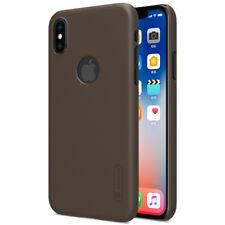 Apple iPhone X / XS Schutz Hule Tasche Nillkin Case Back Super Frosted Shield