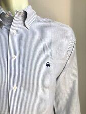 Brooks Brothers Shirt, Oxford Stripes, M (15-1/2, 34/35), Regent Slim Fit, NWOT