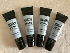 New Lot Of 4 Maybelline Master Prime Hydrate + Smooth Primer 050 0.5oz/ea = 2oz