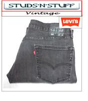 "VINTAGE LEVIS 505'S STRAIGHT FIT JEANS  W36"" L32"" APROX SIZE UK  16 (T212)"