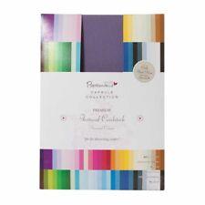 Papermania kolossal A4 Bogen 216gsm Unifarben textiert Karte Lager 75 Farben