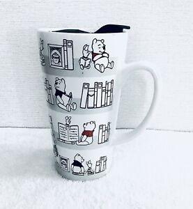 Disney Winnie The Pooh Library travel mug
