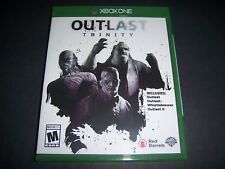 Replacement Case (NO  GAME) Outlast Trinity XBOX ONE 1 XB1 100% Original