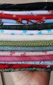 Scrap Fabric Bundle Quilt Cotton Fabric +500g