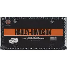 Offical Harley-Davidson Studded Chrome License Plate Frame