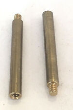 "NEW BRASS 1 1/4"" KNOB/KEY EXTENSION 4/36F X 4/36M LAMP PART FOR TURN SOCKET"