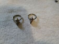 hoop rings *last in stock* 2pc pack 14g alien head captive