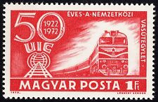 Hungary 1972 Trains / Railways Unmounted Mint FREEPOST