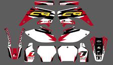 Honda cr 250CC 2005  decals kit