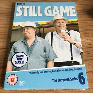 Still Game The Complete Series 6 DVD Boxset (2007) NEW & SEALED Ford Kiernan