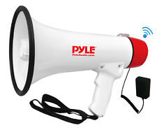 New Pyle PMP42BT Bluetooth 40W Megaphone Bullhorn Speaker w/ AUX USB & SD Input