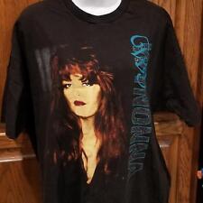 Wynonna T-shirt XLG Tell Me Why Concert Black 1994 Hanes Ultraweight Preshrunk