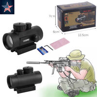 Red Green Laser For Rifle Pistol Dot Sight Scope Tactical with 1X CR2032 Battery