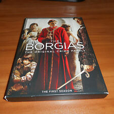 The Borgias: The First Season (DVD, 2011, 3-Disc Set) 1 1st One Used