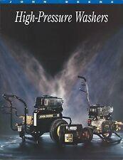 Equipment Brochure - John Deere - High Pressure Washers - c1993 (E3219)