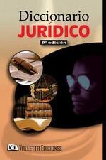 Diccionario Juridico. (9na Edicion) by Dra Laura Valletta (2015, Paperback)
