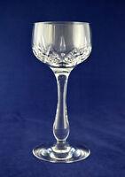"Stuart Crystal ""GLENGARRY"" Tall Wine / Hock Glass – 17.5cms (6-7/8″) Tall"