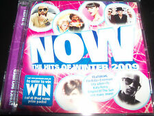 Now Hits Of Winter 2009 Various CD Katy Perry Lily Allen Jason Mraz Flo Rida + K