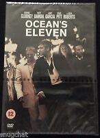 Ocean's Eleven DVD © 2001 Warner Bros George Clooney Brad Pitt Julia Roberts