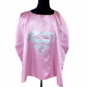 Superwoman Super Cape Adult Pink Costume