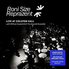 RONI SIZE REPRAZENT LIVE AT COLSTON HALL CD & DVD SET (November 27th 2015)
