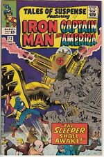 TALES of SUSPENSE #72 IRON MAN Kirby CAPTAIN AMERICA 1st SLEEPER 9.0