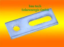 10 x Adapterblech Edelstahl für Stockschrauben M10 PV Solar Profil Alu Schiene
